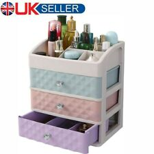 3 Tier Storage Organizer Box Drawer Make Up Brush Holder Storage Pot Jewellery