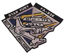 """Babylon 5 Star Fury 6"""" Embroidered Tv Costume/Uniform Patch- Free S&H (B5Pa-12)"""