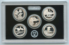 2018 National Park Quarter Silver PROOF Set - ATB America Beautiful US Mint OGP