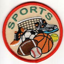 Vintage Basketball Iron On Patch Baseball ⚾️ Crest
