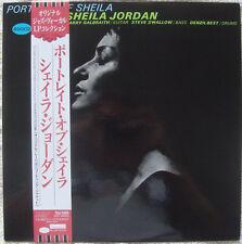 Sheila Jordan Portrait Of Sheila LP Stereo RE Japan 1994 Blue Note Jazz OBI NM-