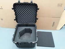 Peli 0340 Protector Cube Case with foam and eggshell liner for drones & cameras