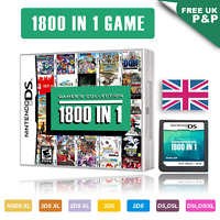 1800 in 1 Video Games Cartridge Pokemon Card For DS NDS NDSL NDSi 2DS 3DS UK