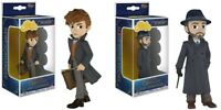 2 Figure Set Dumbledore and Newt Scamander Funko Rock Candy Fantastic Beasts New