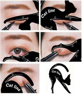 Eyeliner Cat Lidschattenkontur Schablone (2er Set) für Smokey Eyes und Cateyes