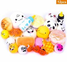 Squishy Lot Slow Rising 12pcs Kawaii Soft Cell Phone Straps Gift Squishies