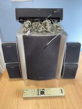 Sony SS-CTRD1 Powered Home Cinema Speaker System Subwoofer, 5.1 Speakers, Remote