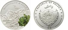 2011 Palau Large  Proof Color Silver $5 Flowers/Mount TYREE