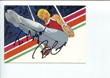 Bart Conner US Olympic Gold Gymnast HOF Signed Autograph Postcard FDC