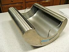 Rare Heath Stainless Steel Rocking 8x10 Print Developing Tray Color Canoe