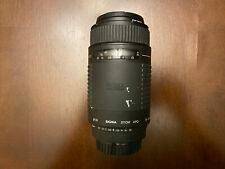 Sigma 75-300mm F4-5.6 APO w/Hood for Minolta/Sony As-Is Untested