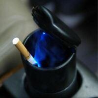 [ NT ] Portable Voiture Auto Cendrier Bleu LED Light sans Fumée Cigarette