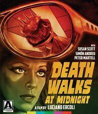 DEATH WALKS AT MIDNIGHT - DVD PLUS CASE - ARROW VIDEO - LUCIANO ERCOLI