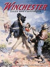 Winchester Guns And Cartridges TIN SIGN Metal Spooked Horse Gunshop Poster Ad