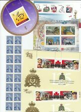ASSORTED CANADIAN MINT STAMPS FACE $9.51