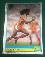 FIGURINA STICKERS CALCIATORI VALLARDI IL GRANDE CALCIO 90 1989-90 OLANDA GULLIT