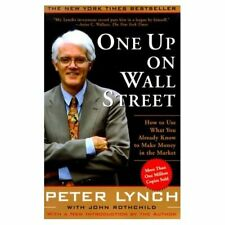 One Up on Wall Street (A Fireside book) - Paperback NEW Lynch, Peter 2000-08-21