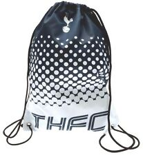 TOTTENHAM HOTSPUR FC FOOTBALL SCHOOL SPORTS GYM PE KIT DRAWSTRING SWIM BAG SPURS