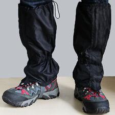 1Pair Waterproof Outdoor Hiking Walking Climbing Hunting Snow Legging Gaiters QW