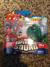 MARVEL SUPER HERO SQUAD FALCON HULK Brand New Hasbro Lot