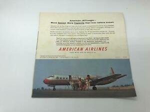 American Airlines Boeing 707 Jet Flagship Airline Travel Poster Very Nice