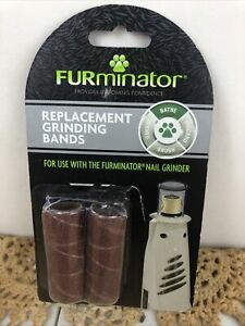 FURminator Replacement Grinding Bands 6ct./120 Grit New
