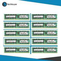 10 X HP 4GB (1*4GB) 2RX4 PC3-10600R DDR3-1333MHZ ECC 1.5V RDIMM - 500658-B21