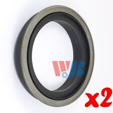 Pair of 2 WJB WS370247A Rear Inner Oil Seal Wheel Seal Interchange 370247A