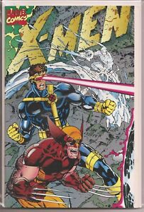 °X-MEN #1 RUBICON °USA MARVEL 1991 Jim Lee Fold Out Cover