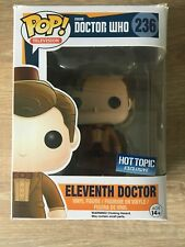 Eleventh Doctor Funko Pop Doctor Who #236 Hot Topic Exclusive