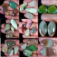 100%natural Super Quality imperial jasper Mix Pair Lot Cabochon gemstone MIX UK