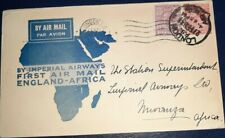 Imperial Airways First Flight LONDON-MWANZA DATED 1931