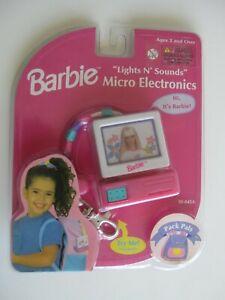 1999 Mattel BARBIE Lights N Sounds Micro Electronics Pack Pals MOC   FREE SHIP!!