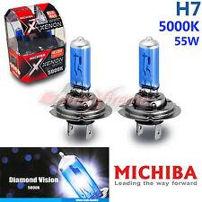 For TOYOTA MICHIBA H7 12V 55W 5000K Xenon Super WHITE Headlight Bulbs Low Beam