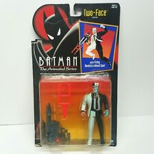 Batman The Animated Series Two-Face Action Figure Kenner 1992 Sealed Vintage
