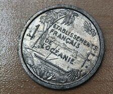 1949 French Oceania 1 Franc