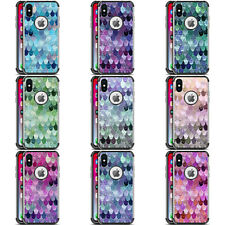 MONIKA STRIGEL HAPPY MERMAID BLACK SHOCKPROOF FENDER CASE FOR HUAWEI LG MOTOROLA