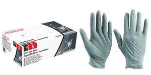 Box of 100 Shield GD19 Blue Nitrile Examination Gloves Powder Free M, L, XL