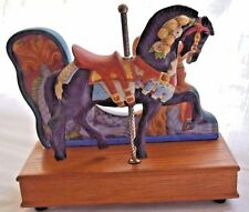 Willitts Inc. Melodies Carousel Waltz Horse Music Box