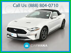 2019 Ford Mustang EcoBoost Premium Convertible 2D AM/FM Stereo Dual Power Seats Daytime Running Lights Power Door Locks Leather