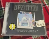 Led Zeppelin 2 CD The Soundtrack from the film The Song Remains The Same 1976