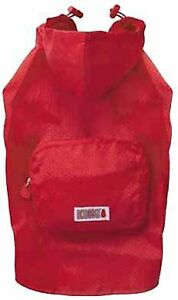 Kong License, Stowaway Jacket, Size Extra Small, Red