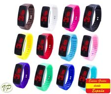 Reloj LED Digital UNISEX Deportivo Reloj de hombre mujer. Reloj de silicona