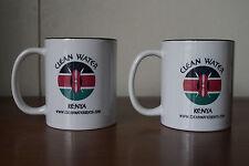 Clean Water Kenya Coffee Mug Cup Two Tone (Set of 2)