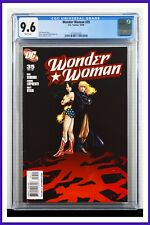 Wonder Woman #35 CGC Graded 9.6 DC October 2009 White Pages Comic Book.