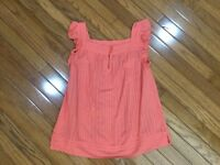 Marc Jacobs Women's Pink Tank Sleeveless Top Blouse Size 6