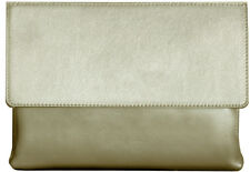 Leather Clutch Holy Goldie genuine
