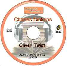Oliver Twist - Charles Dickens Mp3 Audio Book 53 Episodes/chapters on CD