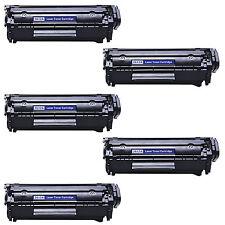 5 COMPATIBILI REMAN TONER HP 2612A BK LaserJet 3020 AIO 3030 AIO 3030 1020 1022