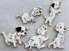Fantasy Disney Pin Set. 5 Dalmatian Puppies. 101 Dalmatians pin